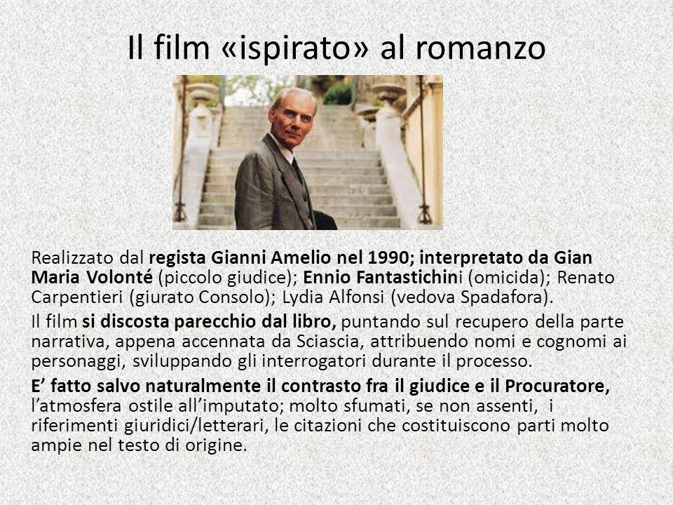 Il film «ispirato» al romanzo