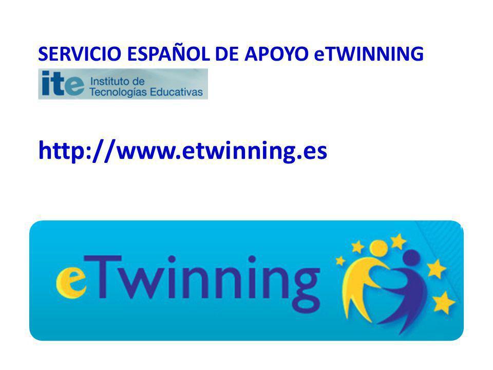 SERVICIO ESPAÑOL DE APOYO eTWINNING