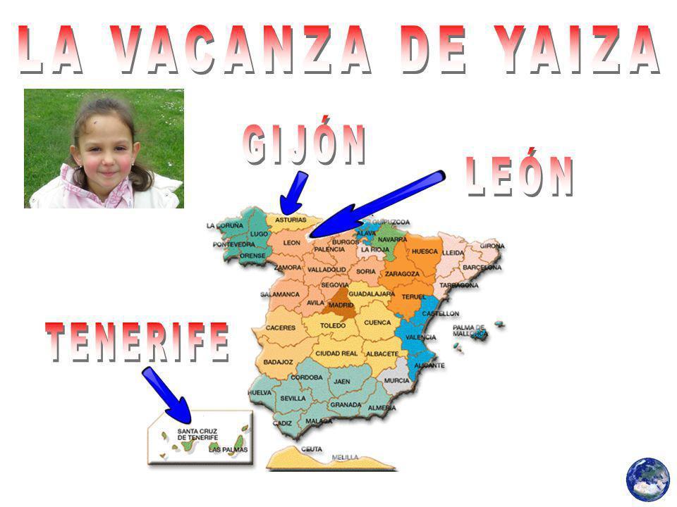 LA VACANZA DE YAIZA GIJÓN LEÓN TENERIFE
