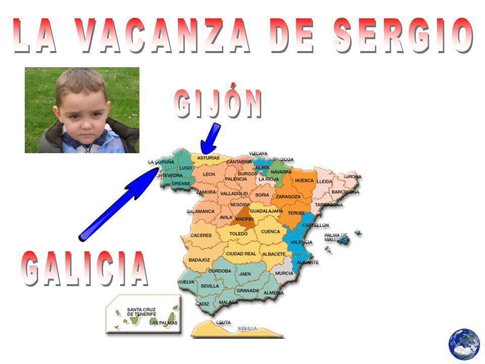 LA VACANZA DE SERGIO GIJÓN GALICIA