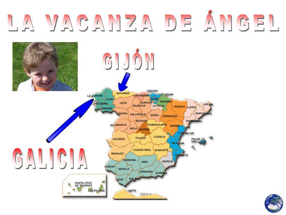 LA VACANZA DE ÁNGEL GIJÓN GALICIA