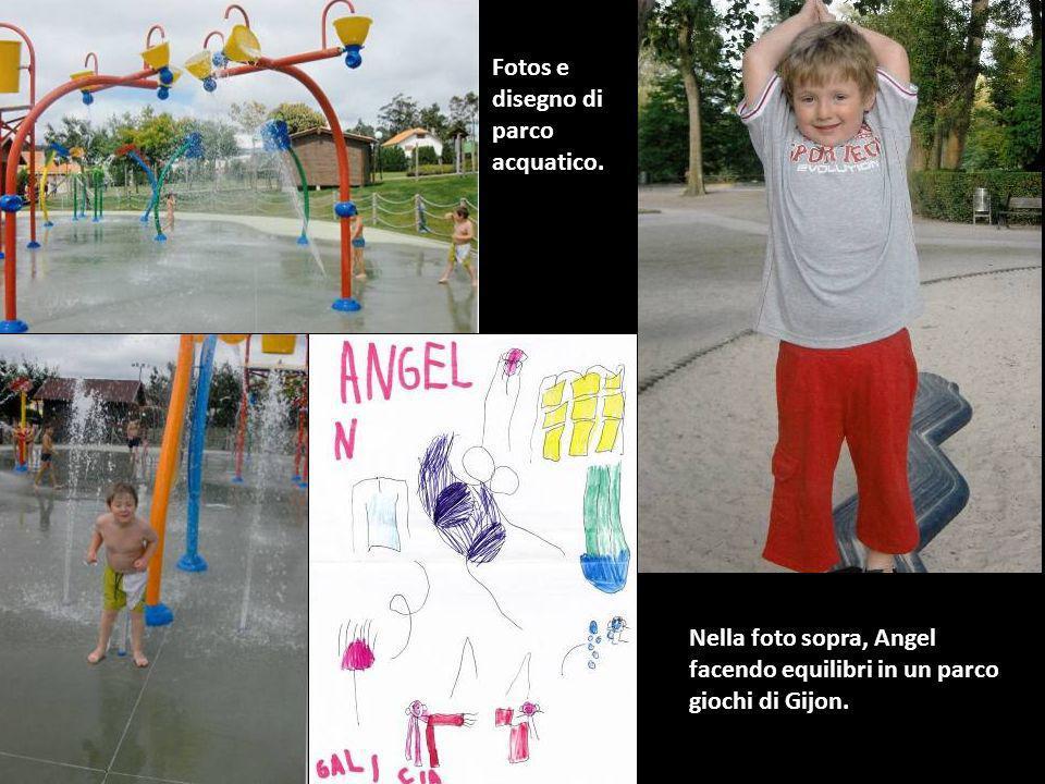 Fotos e disegno di parco acquatico.