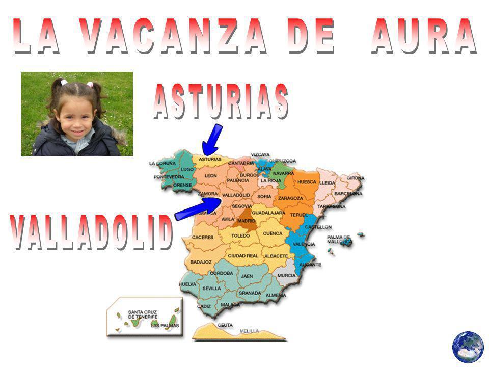 LA VACANZA DE AURA ASTURIAS VALLADOLID
