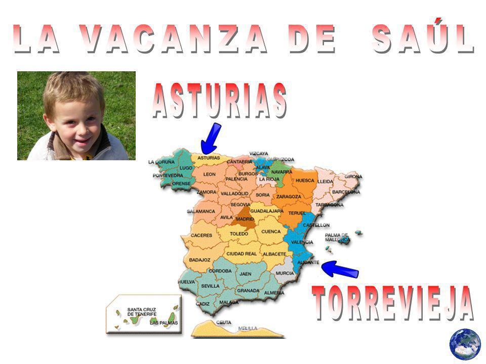 LA VACANZA DE SAÚL ASTURIAS TORREVIEJA