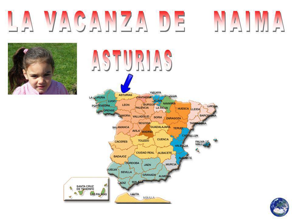 LA VACANZA DE NAIMA ASTURIAS