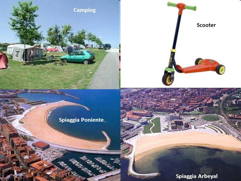 Camping Scooter Spiaggia Poniente Spiaggia Arbeyal