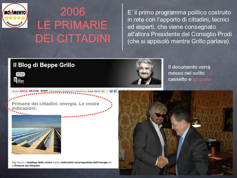 2006 LE PRIMARIE DEI CITTADINI