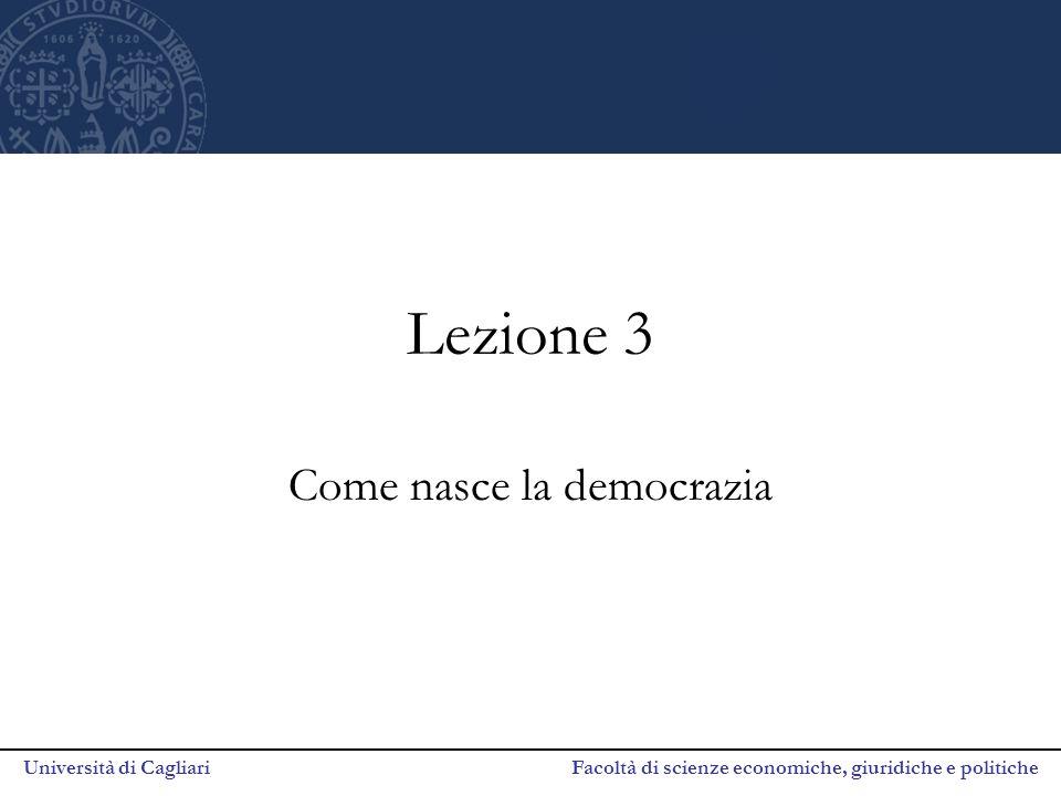 Come nasce la democrazia