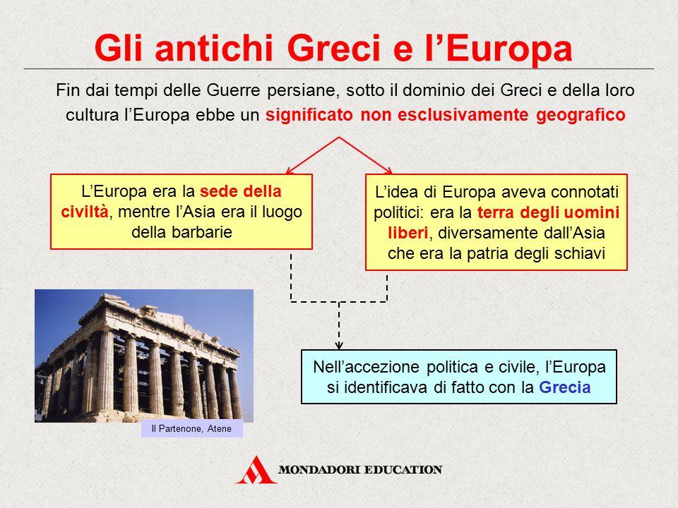 Gli antichi Greci e l'Europa