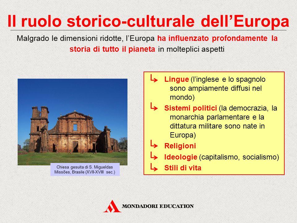 Il ruolo storico-culturale dell'Europa