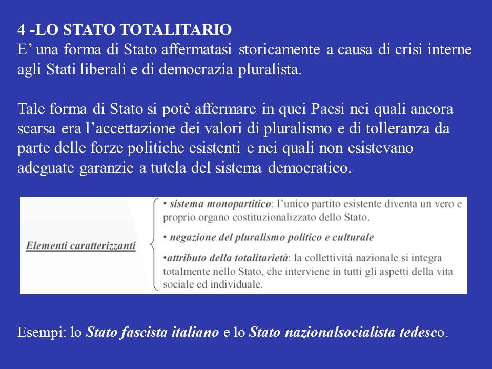 adeguate garanzie a tutela del sistema democratico.