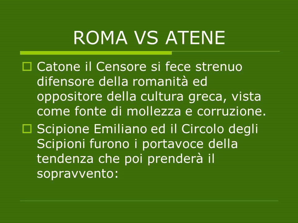 ROMA VS ATENE