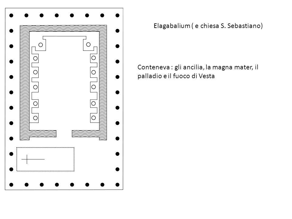 Elagabalium ( e chiesa S. Sebastiano)