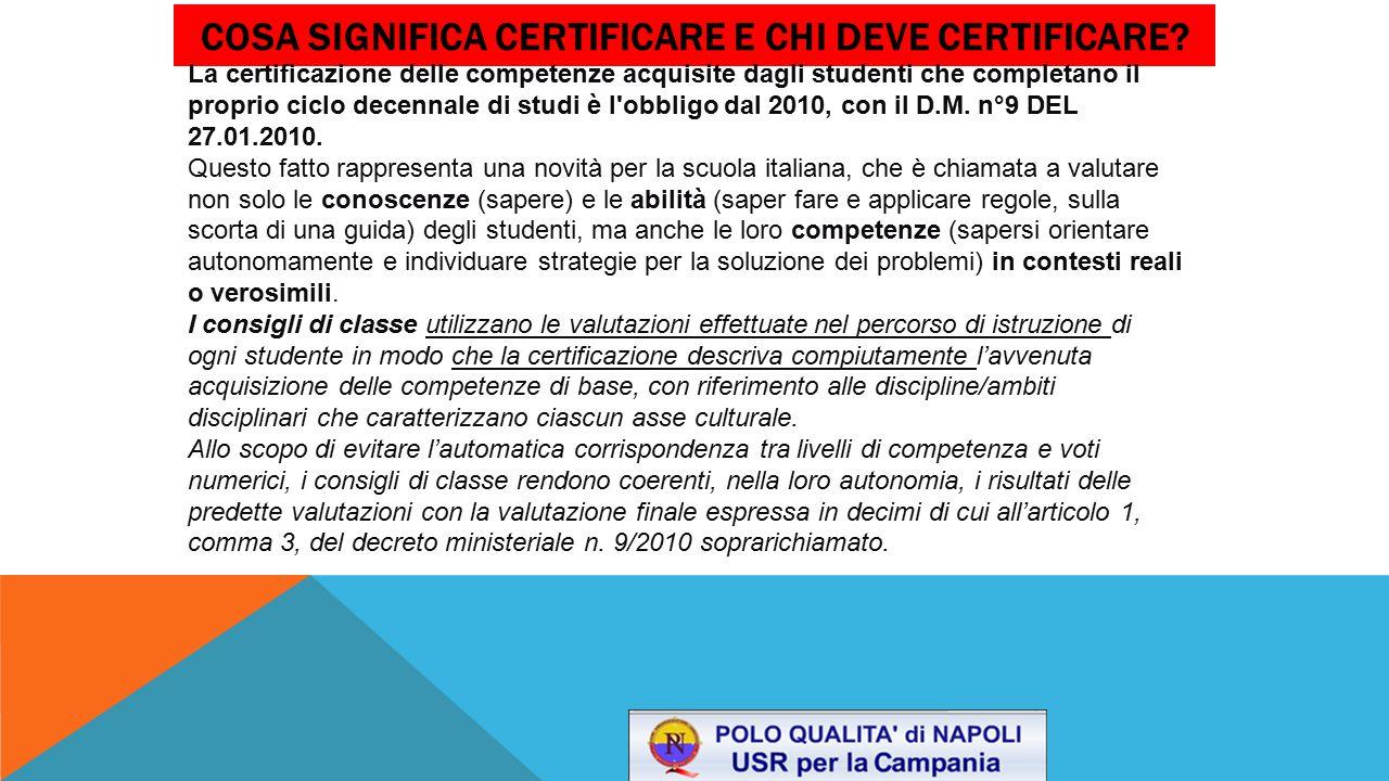 Cosa significa certificare e chi deve certificare