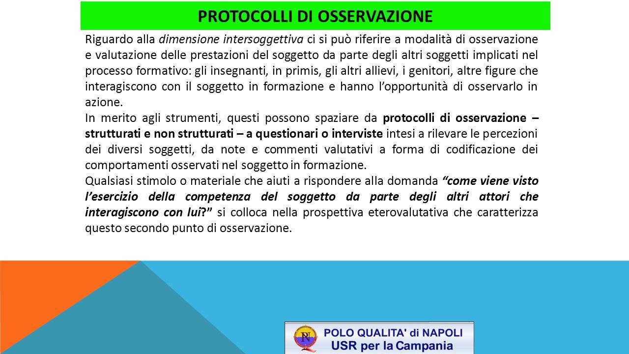 protocolli di osservazione
