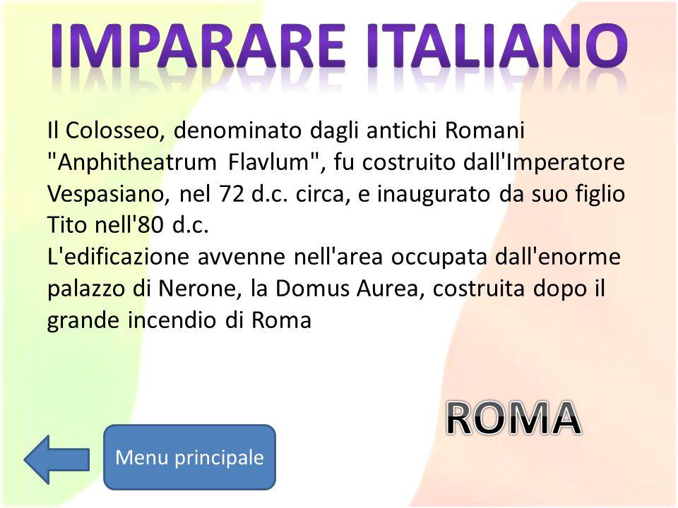 Imparare italiano ROMA