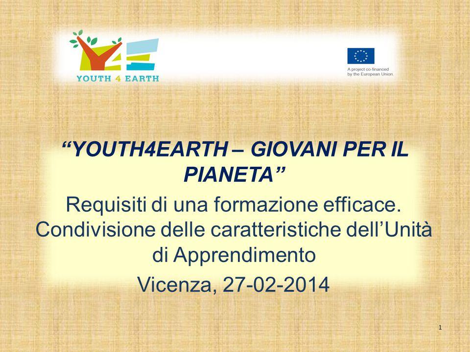 YOUTH4EARTH – GIOVANI PER IL PIANETA