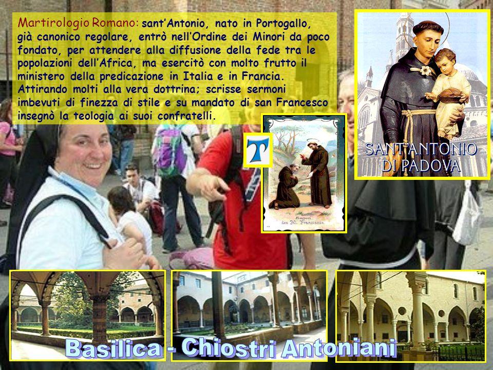Basilica - Chiostri Antoniani