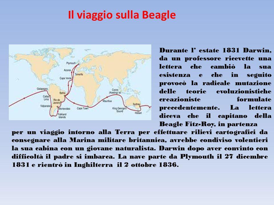 Il viaggio sulla Beagle