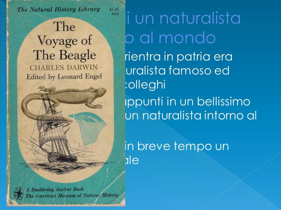 Il viaggio di un naturalista intorno al mondo