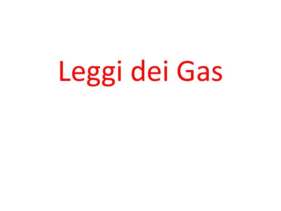 Leggi dei Gas 1