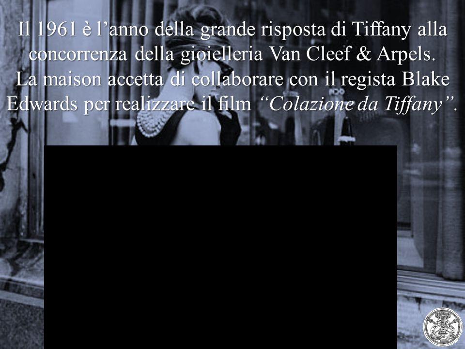 Il 1961 è l'anno della grande risposta di Tiffany alla concorrenza della gioielleria Van Cleef & Arpels.