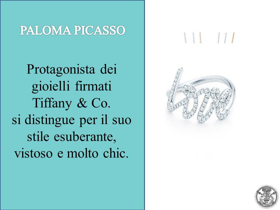 Protagonista dei gioielli firmati Tiffany & Co.