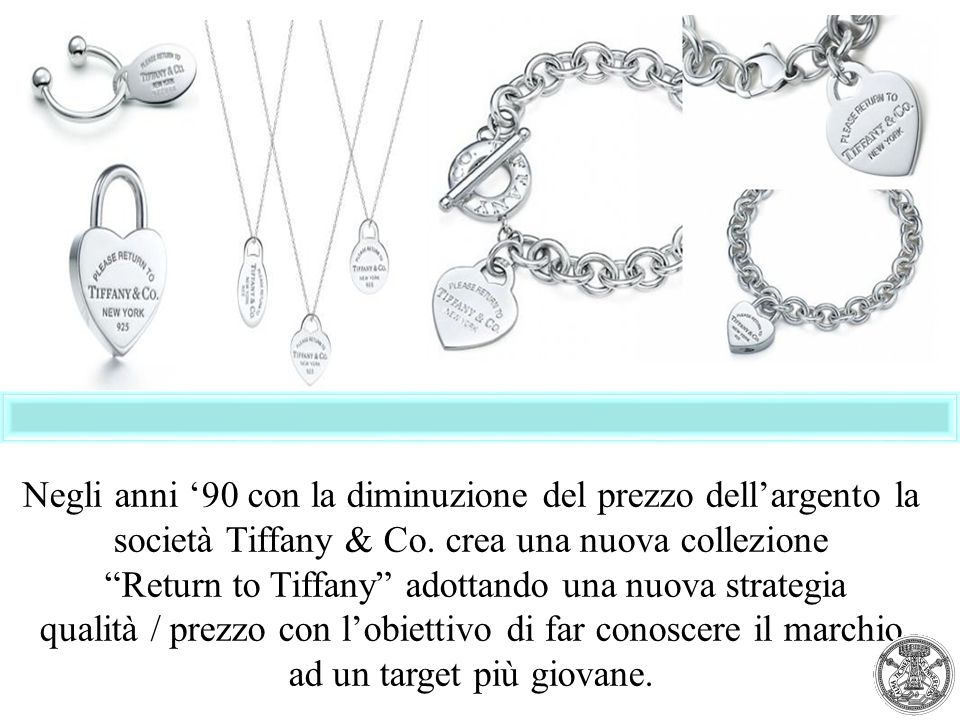 Return to Tiffany adottando una nuova strategia