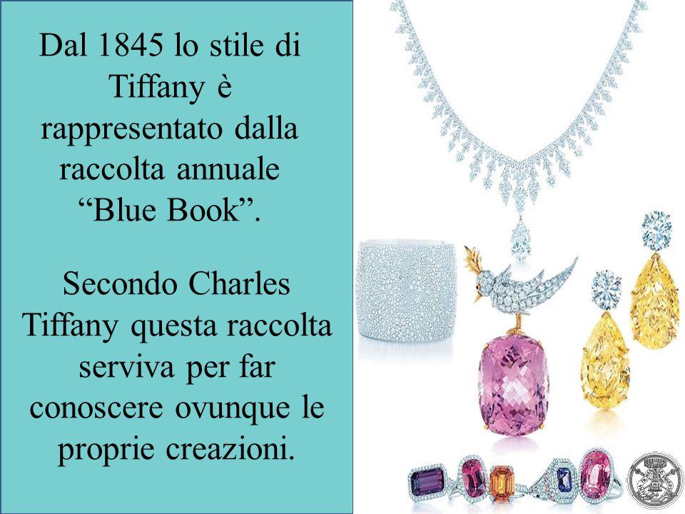 Dal 1845 lo stile di Tiffany è