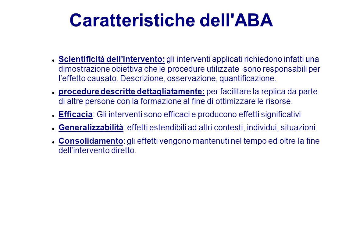 Caratteristiche dell ABA