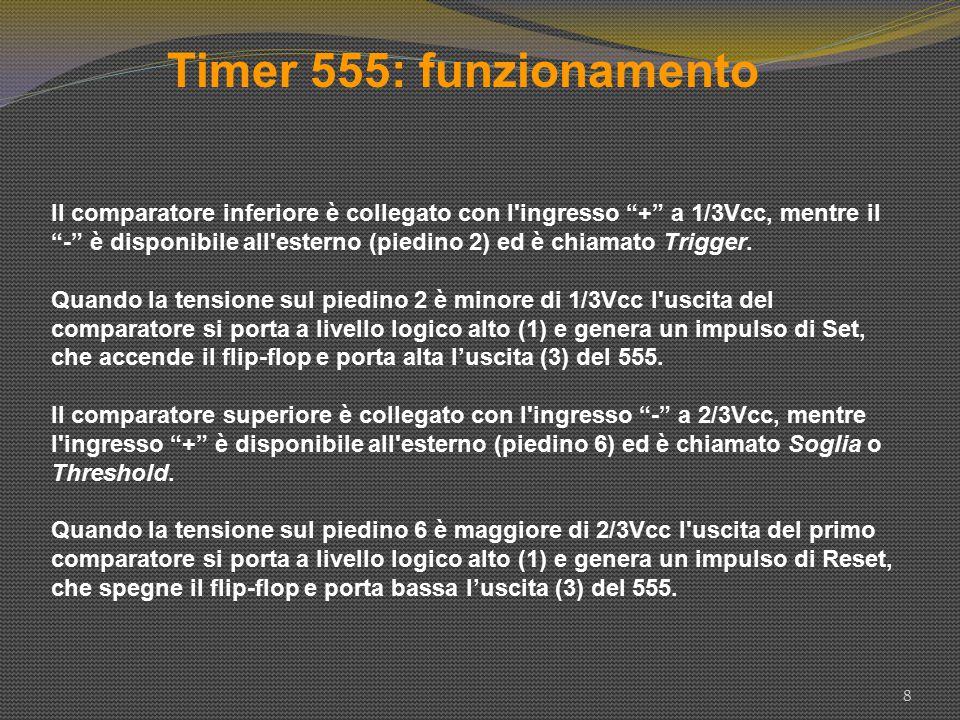 Timer 555: funzionamento