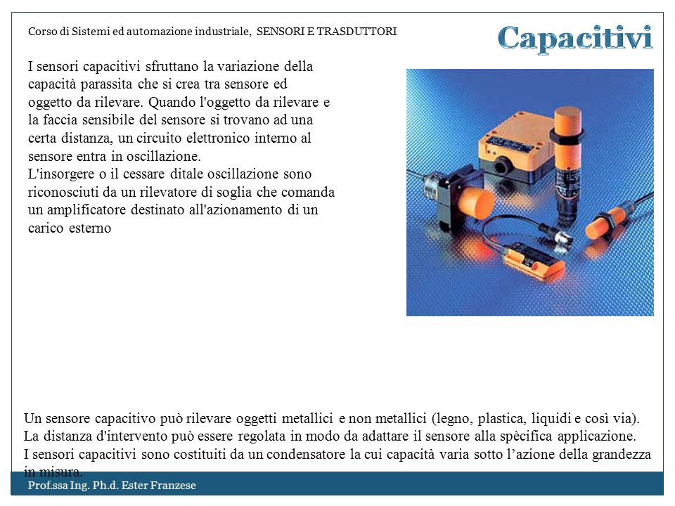 Capacitivi