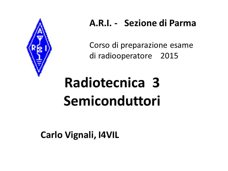 Radiotecnica 3 Semiconduttori
