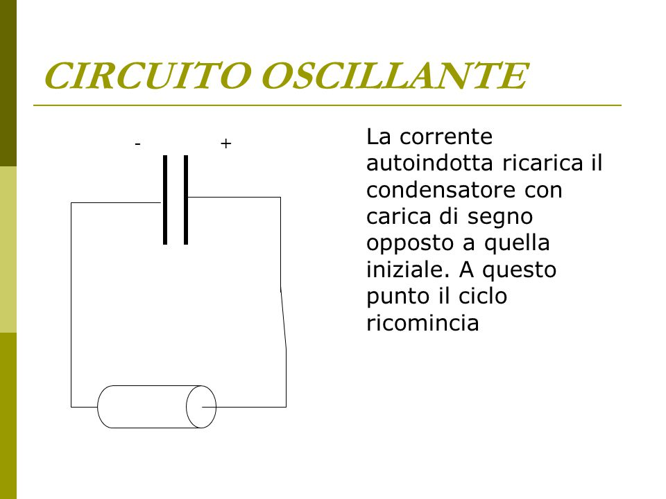 CIRCUITO OSCILLANTE