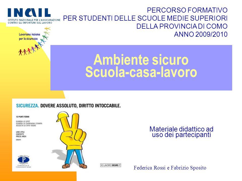 Ambiente sicuro Scuola-casa-lavoro