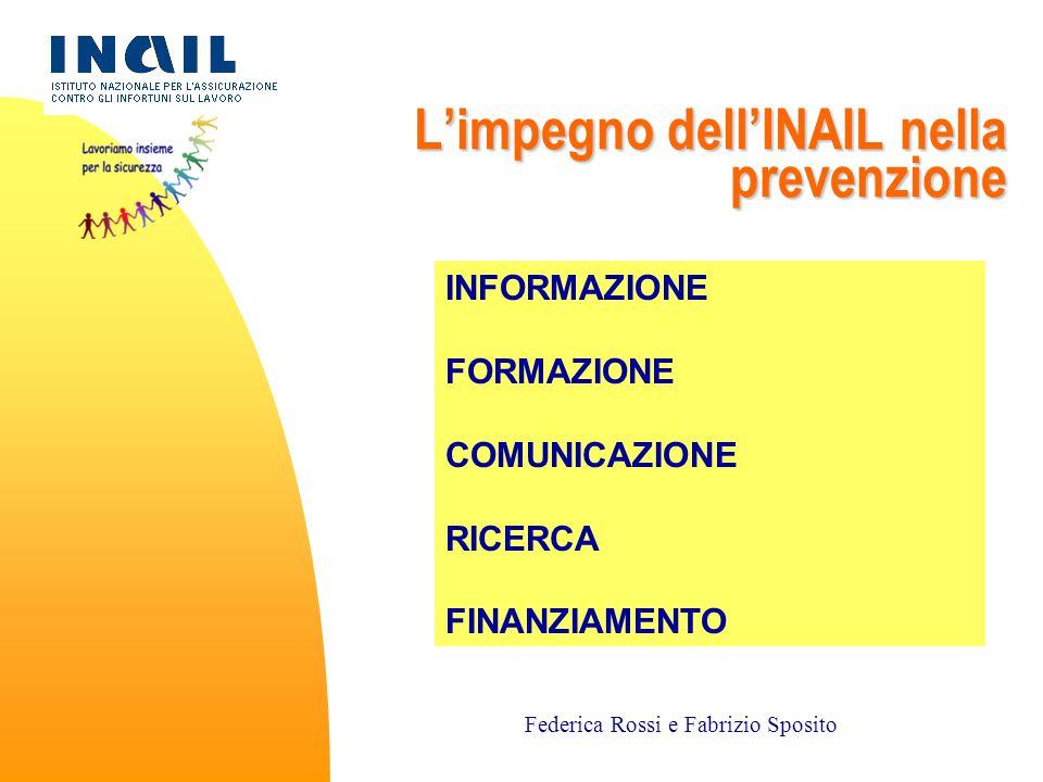 L'impegno dell'INAIL nella prevenzione