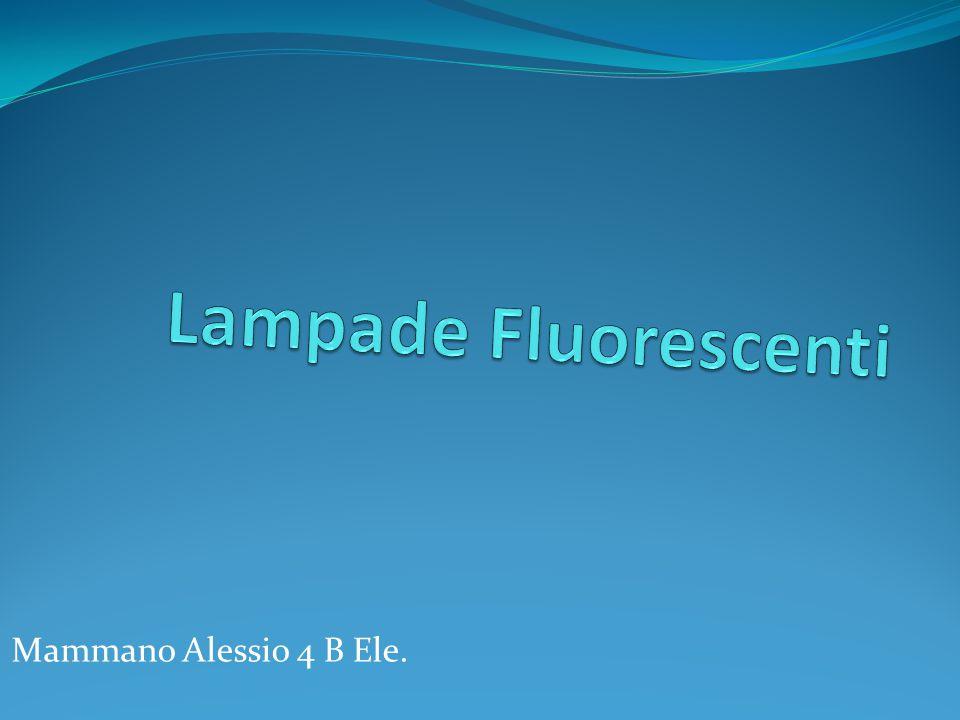Lampade Fluorescenti Mammano Alessio 4 B Ele.