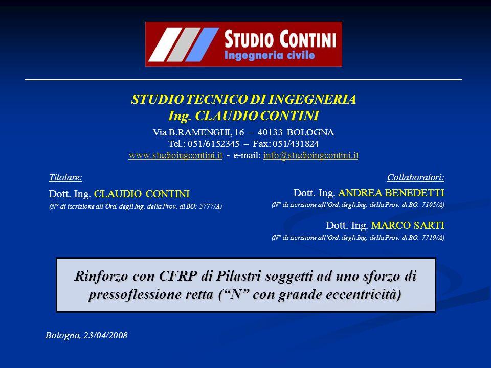 STUDIO TECNICO DI INGEGNERIA Ing. CLAUDIO CONTINI