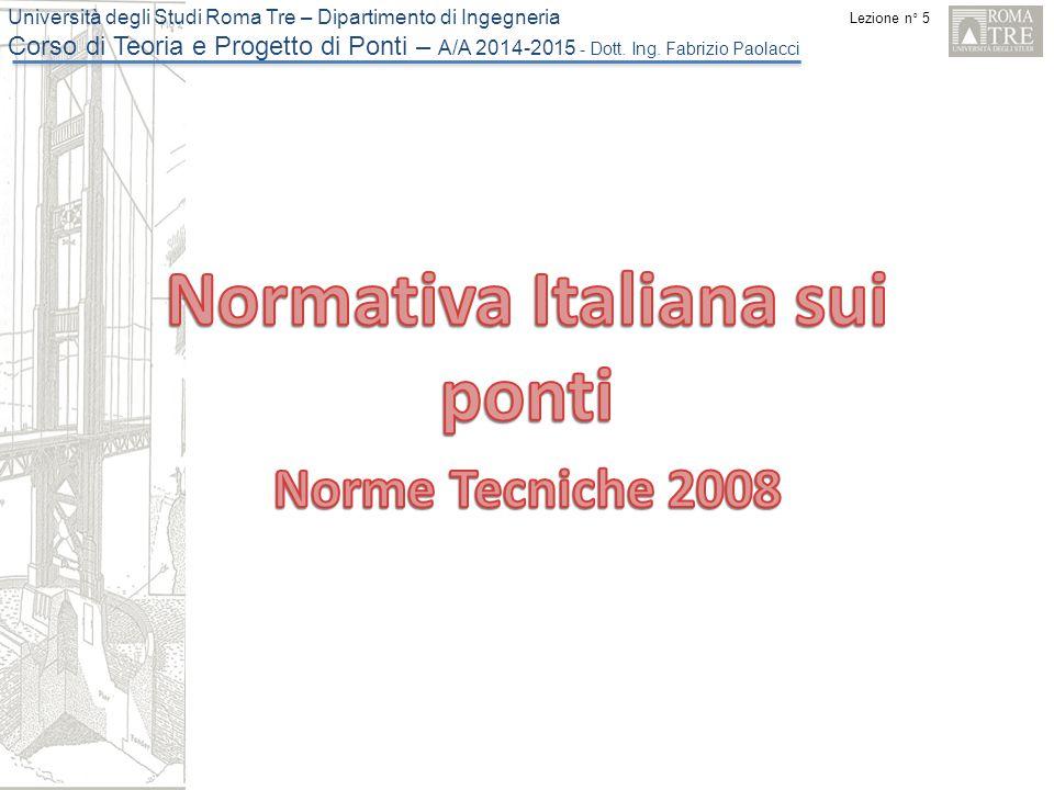 Normativa Italiana sui ponti