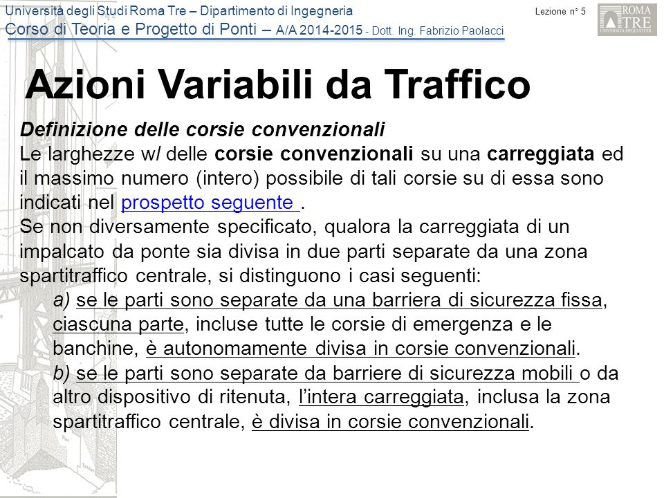 Azioni Variabili da Traffico