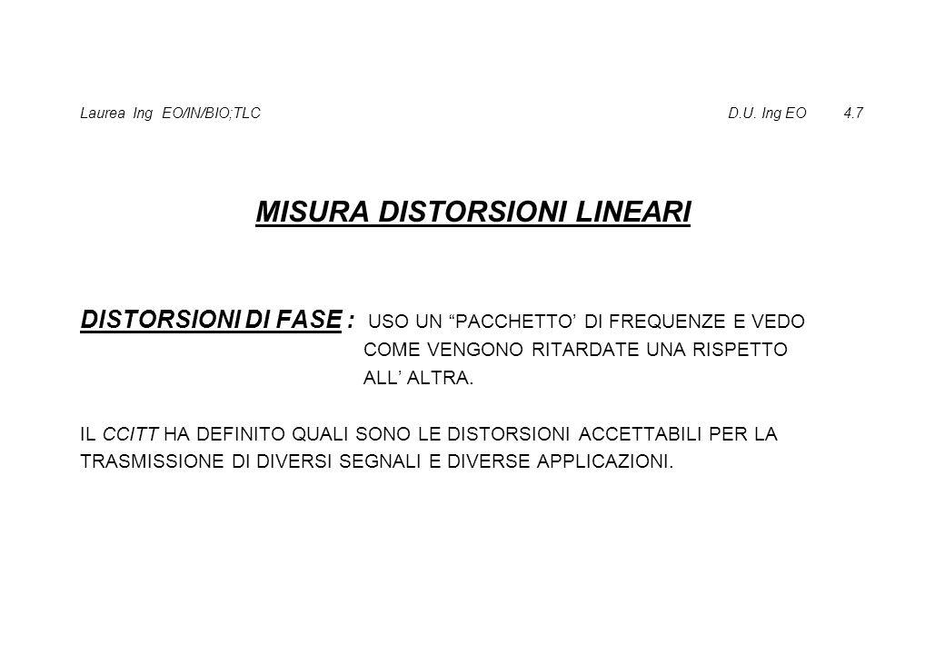 Laurea Ing EO/IN/BIO;TLC D.U. Ing EO 4.7