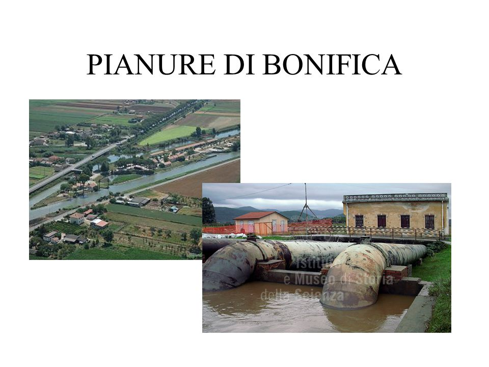 PIANURE DI BONIFICA
