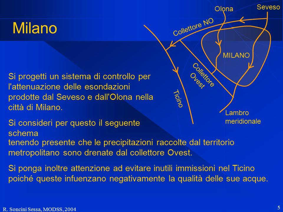 Milano Olona. Seveso. Collettore NO. MILANO.