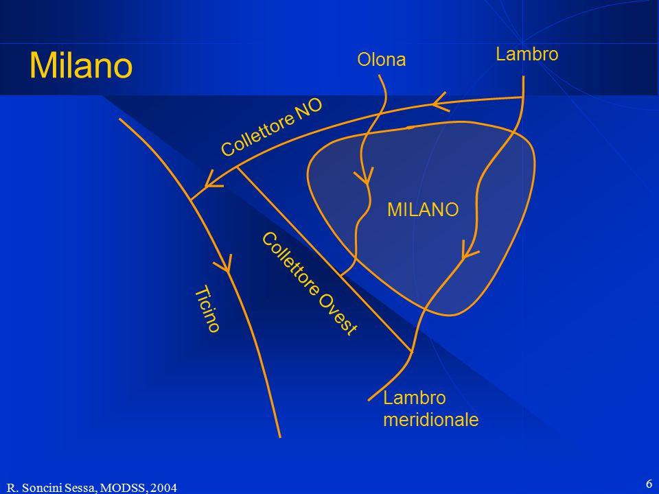 Milano Lambro Olona Collettore NO MILANO Collettore Ovest Ticino