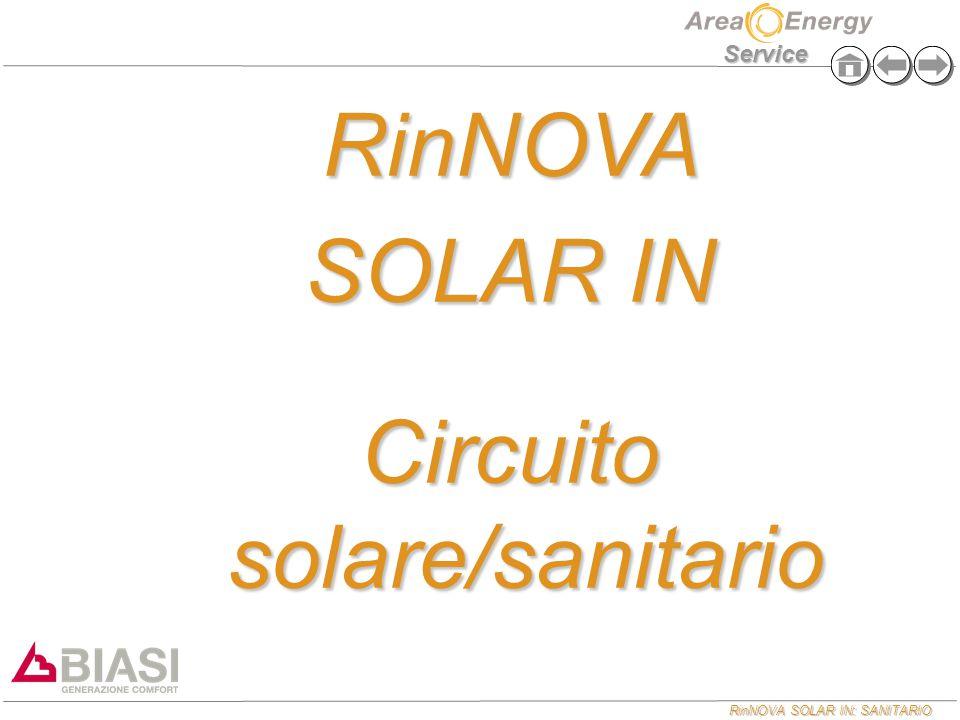 Circuito solare/sanitario