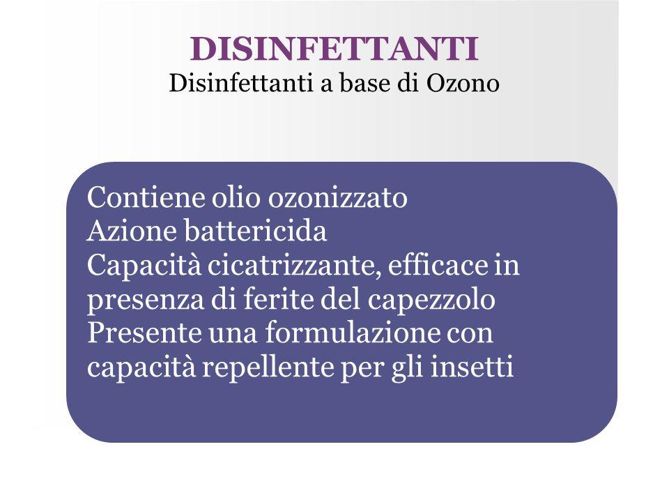 Disinfettanti a base di Ozono