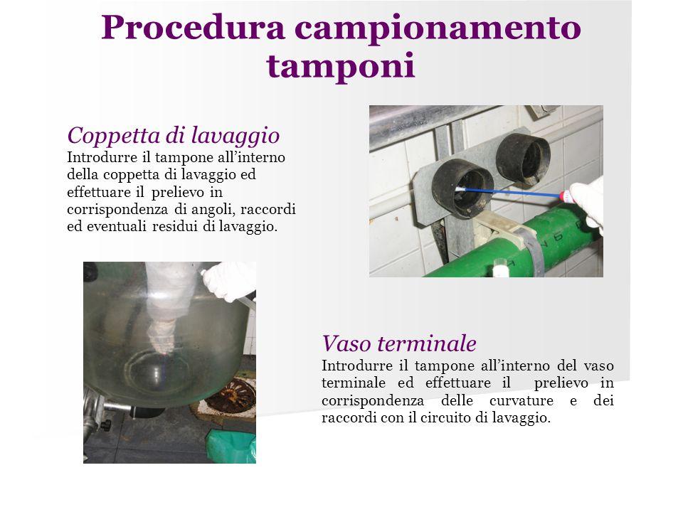 Procedura campionamento tamponi