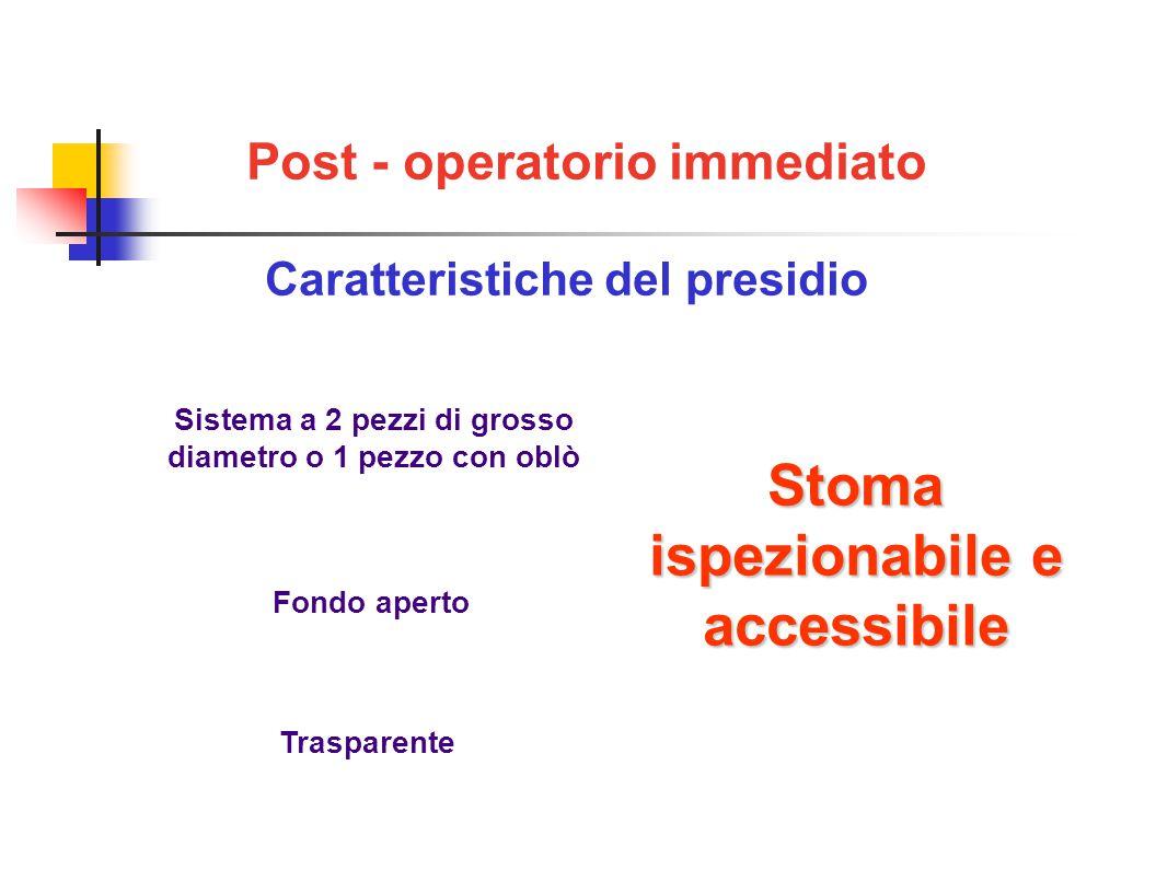Sistema a 2 pezzi di grosso diametro o 1 pezzo con oblò