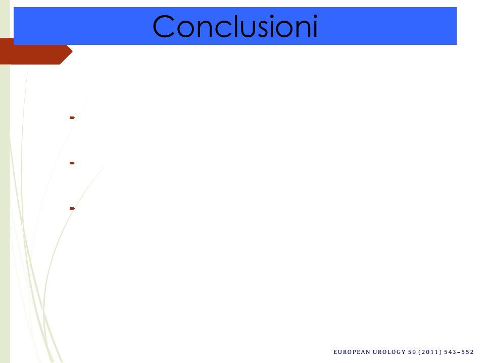 Conclusioni Sia la NR che la NP presentano dei buoni risultati da un punto di vista oncologico.