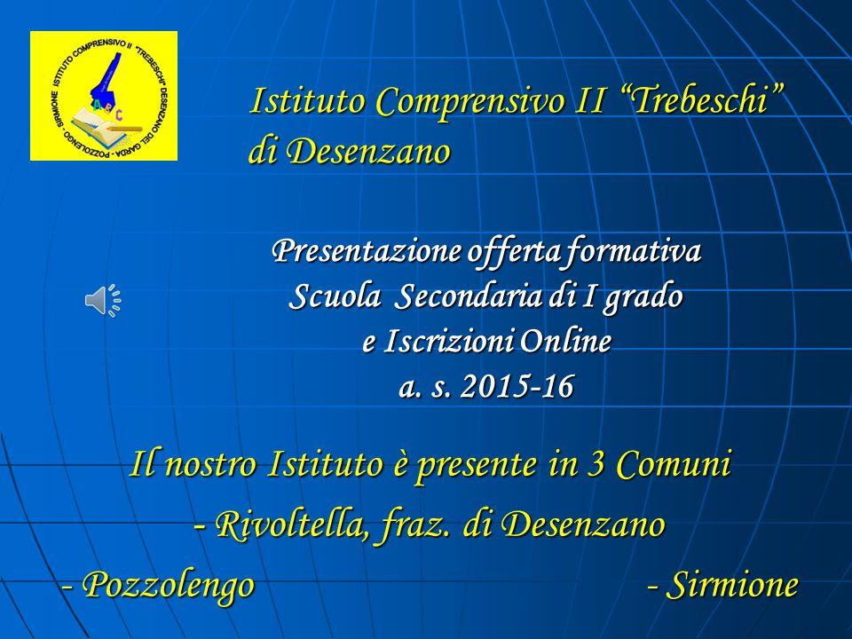 Presentazione offerta formativa Scuola Secondaria di I grado